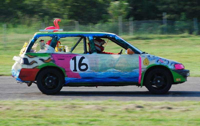 Civic Station Wagon Leading After Day One At The Laissez Les Crapheaps Roulez LeMons