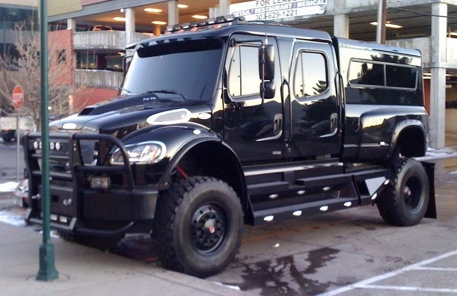 Birdman Copies Shaq, Buys Ginormous SportChassis P4XL SUV