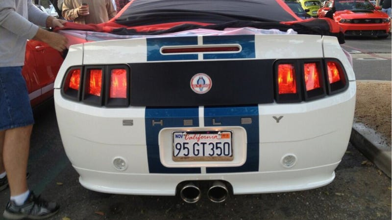 Is This The 2014 Mustang Shelby GT350?