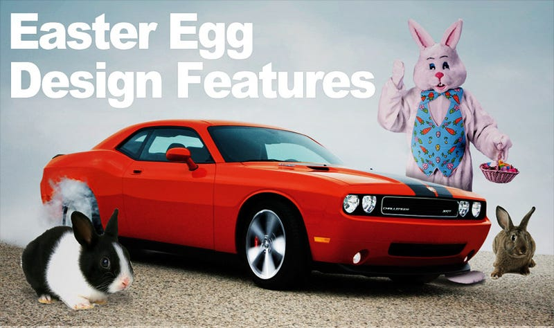 Top Ten Auto Design Easter Eggs