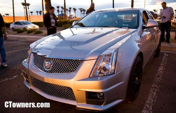 2009 Cadillac CTS-V Caught in the Wild