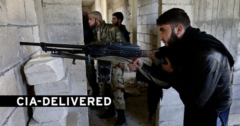 The CIA Is Now Shipping Weapons to Syrian Rebels