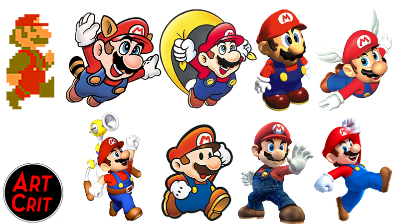 Show Us What You Love And Hate About Mario's Character Design