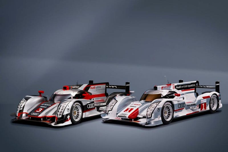 Audi R18 e-tron Quattro Hybrid: First Photos