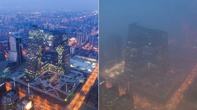 Beijing Is Choking on Smog