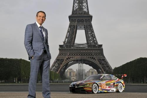 Jeff Koons' Colorgasmic BMW M3 GT2 Art Car