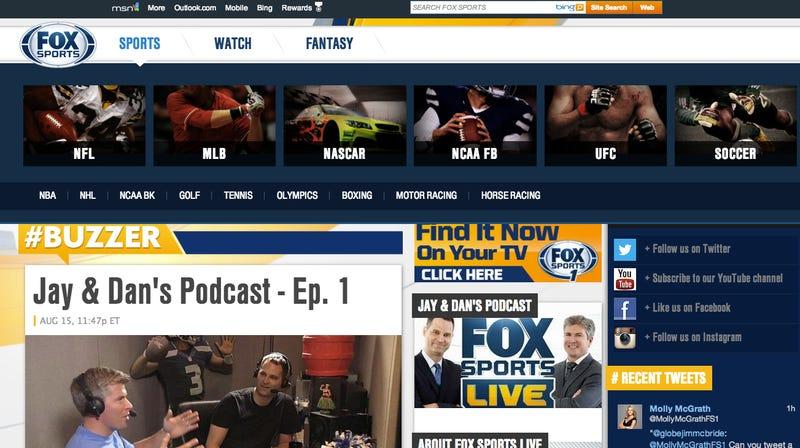 Fox Sports 1 Is Already Ignoring Hockey [UPDATE]