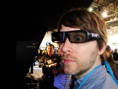 Brian and Mike... in 3D!!! (Glasses)