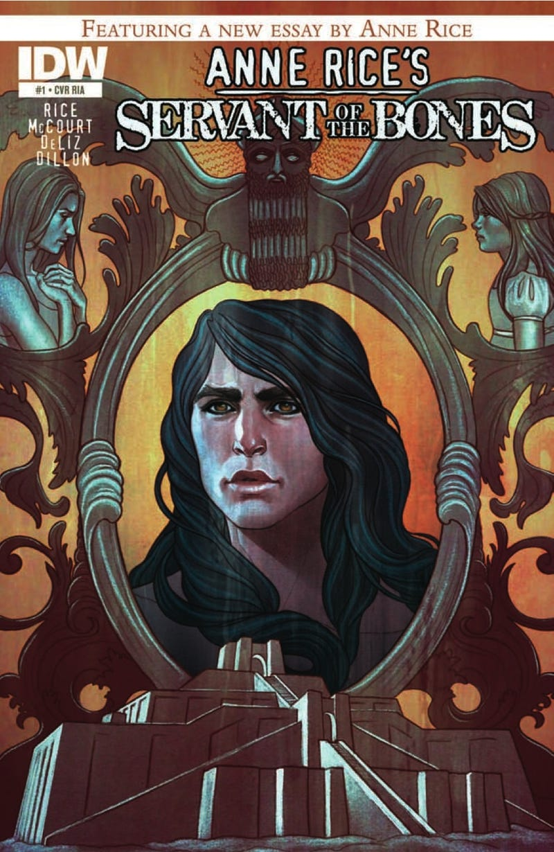 Read an exclusive preview of Anne Rice's new horror comic, Servant of the Bones
