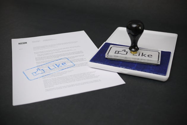 You Will Like the Facebook Like Rubber Stamp