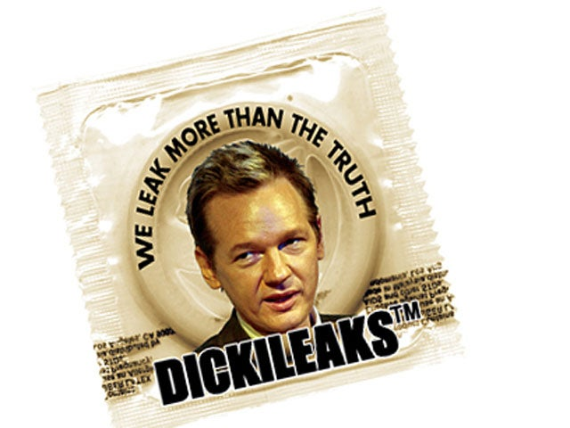 DickiLeaks Condom Has a Terrible Slogan