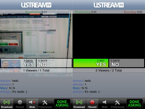 UStream's iPhone Video Broadcasting App is Live For Jailbroken iPhones, Still Not For App Store