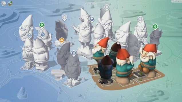 Sims 4 Cheat Leads To Giant Toilets
