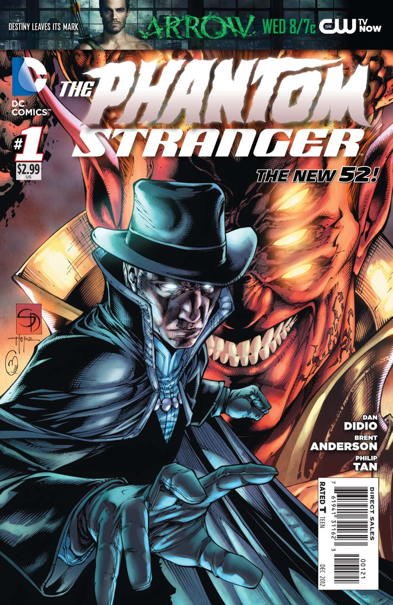 A first look at the new issue of DC Comics' Phantom Stranger
