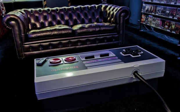 Enormous 10:1 Scale NES Coffee Table Actually Works
