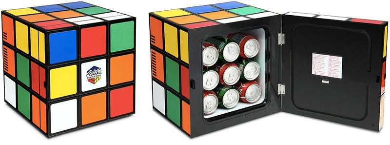 This Rubik's Cube Fridge Will Forever Be Unsolved