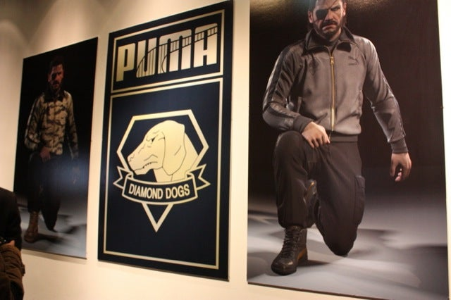 Up Close with Metal Gear Solid's New Puma Jackets and Sneakers
