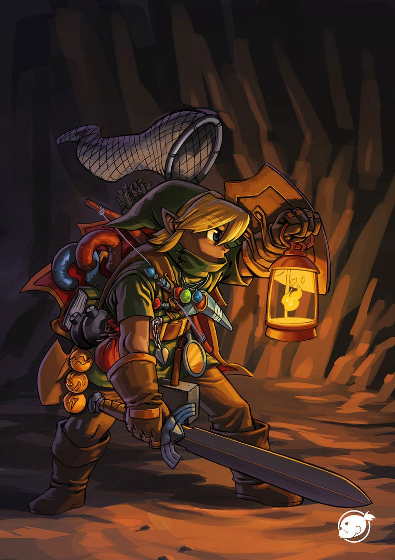 How Link Really Carries All That Crap Around