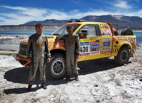 Chilean Privateers Running Ford SVT Raptor In Dakar Rally