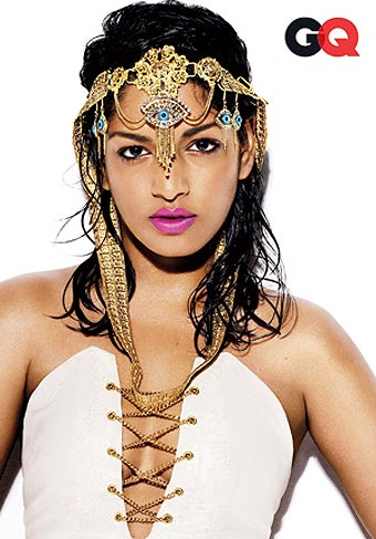 "M.I.A.: ""I Wanted To Wear A Costume Made Out Of Loads Of Blown-Up Body Parts."""