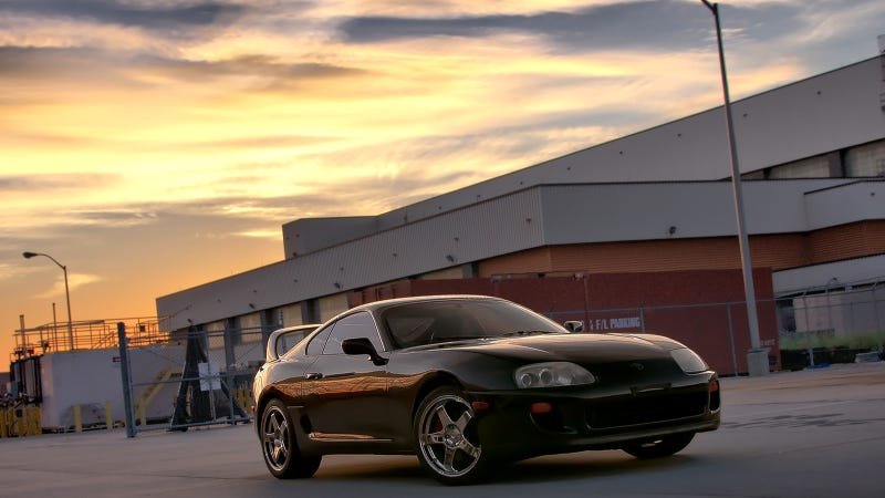 Your Ridiculously Awesome Toyota Supra Wallpaper Is Here