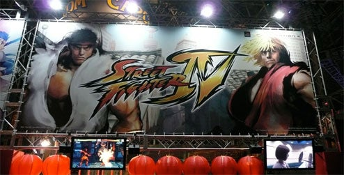Street Fighter IV Booth Punches The Competition In The Face