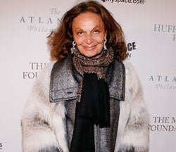 DVF, Presidential Ski-Bunny; Pam Anderson's Vivienne Westwood Ads Debut
