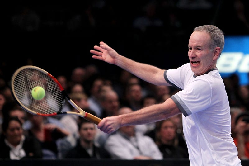 John McEnroe Will Swear At You For An Hour For Just $28,500