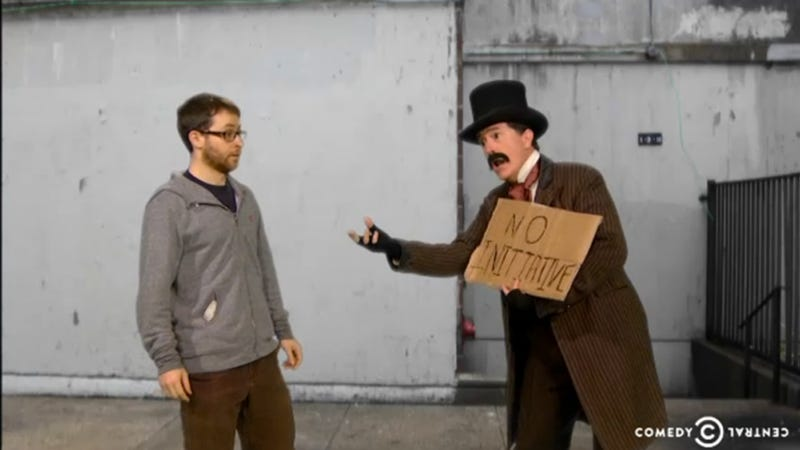 Colbert Sticks It to the Homeless with 'Homeless for the Holidays'