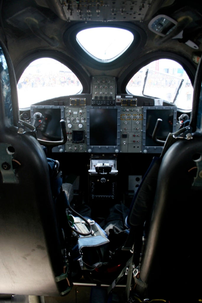 First Pictures of Virgin Galactic WhiteKnightTwo Interior