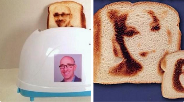 The Selfie Toaster Is Exactly What It Sounds Like