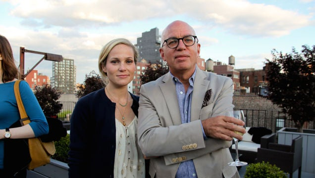 Michael Wolff's Awful Girlfriend Is Pregnant