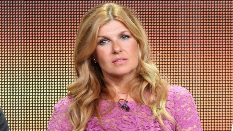 Connie Britton Closes Her Eyes During Taylor Kitsch's Sex Scenes
