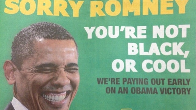 Irish Betting Company So Sure Obama Will Win It's Paying Out a Day Early