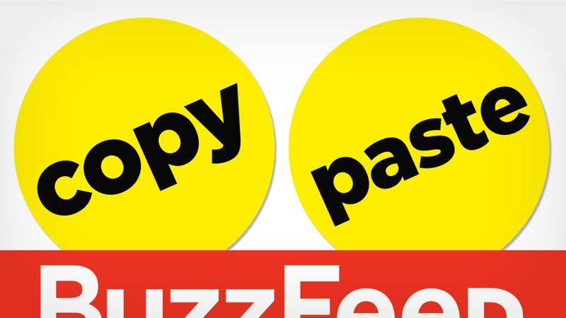 Remix Everything: BuzzFeed and the Plagiarism Problem