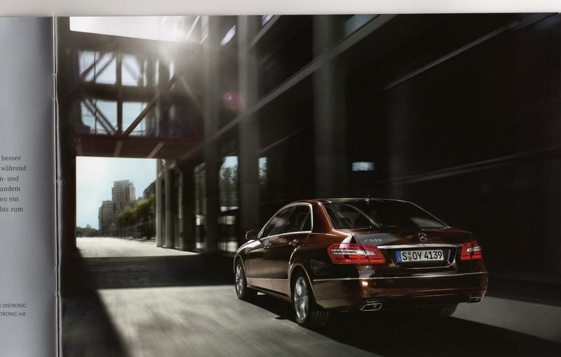 2010 Mercedes E-Class Brochure Leaks Ahead Of Detroit