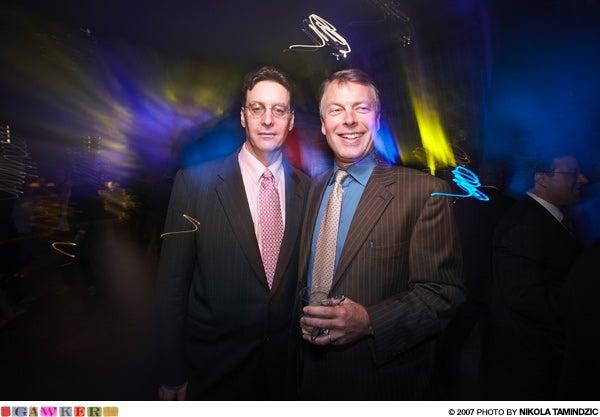Lloyd Grove And Richard Johnson Are Friends