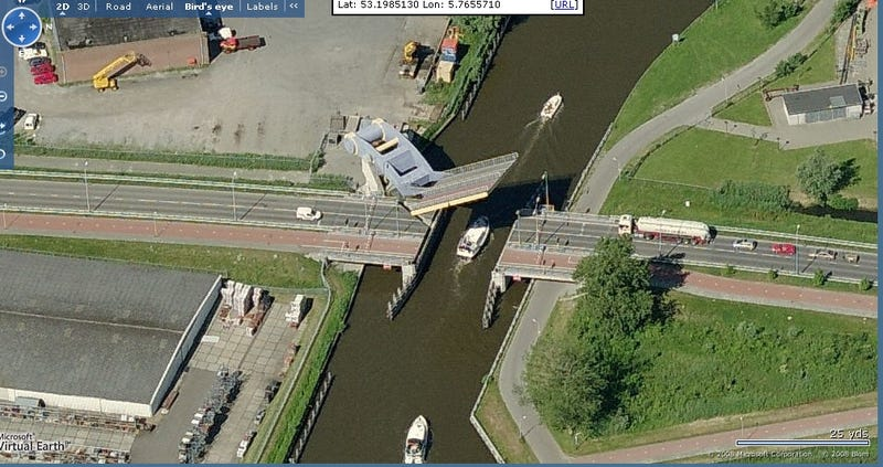 Where's This Bridge? Awesome Cantilevered Drawbridge