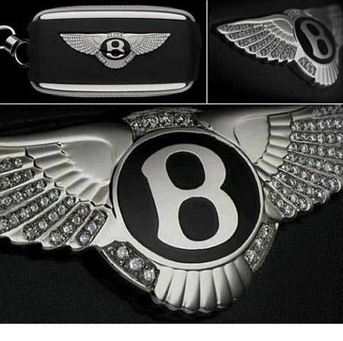Diamond Bentley Key An Appropriately Unnecessary Accessory, Just Don't Sit On It