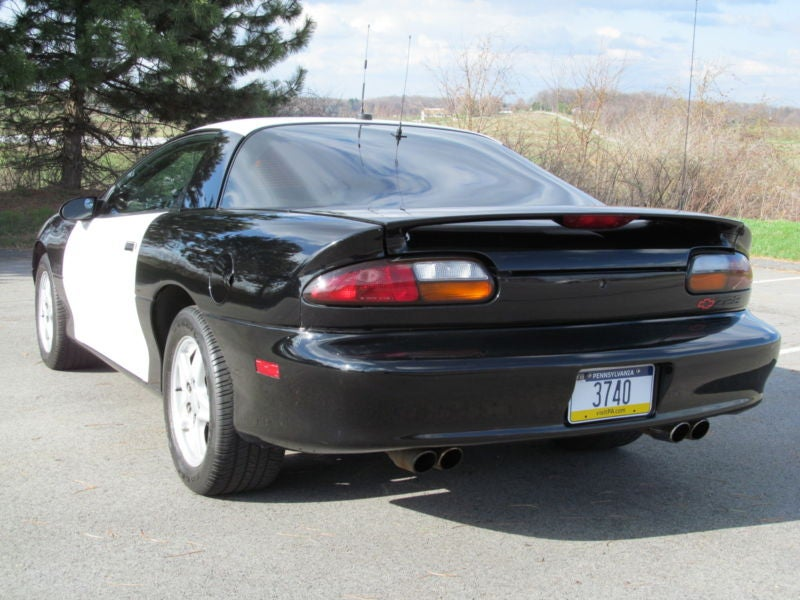 Bitchin' 4 Cops: 1998 Chevy Camaro B4C Police Package