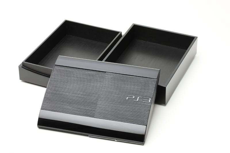 A Bento Box. Shaped Like a PS3. No, Really.