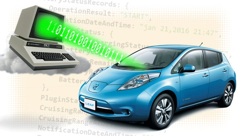 How The Nissan Leaf Can Be Hacked Via Web Browser From Anywhere In The World