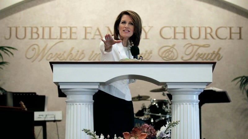Michele Bachmann Actually Thinks She Was One Old-Timey-Serial-Killing Clown Away From a Perfect Campaign