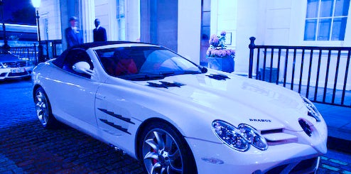 Brabus SLR Roadster Spotted In London