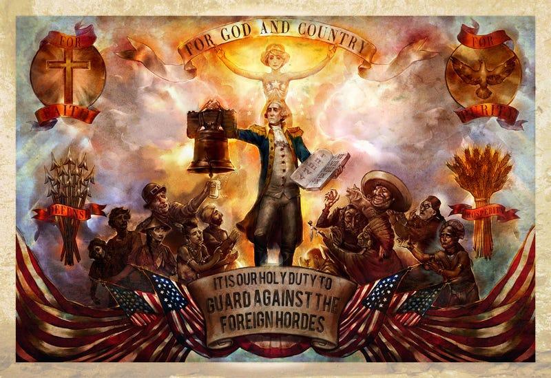 BioShock Infinite's Xenophobia Illustrated
