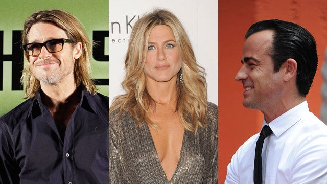 Jennifer Aniston, Justin Theroux, And Brad Pitt Were All In The Same Place At The Same Time