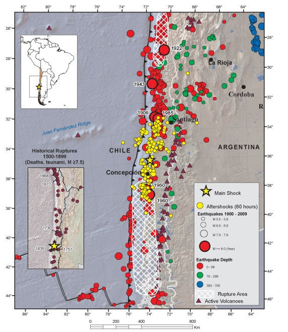 Why The Chile Earthquake Deformed The Earth And Shortened Our Days