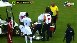 Things Get Worse For Injured Zakuani After Being Hit By Medical Cart
