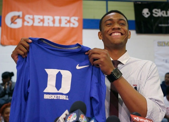 Nike Gave Jabari Parker's High School Branded Apparel And That's OK