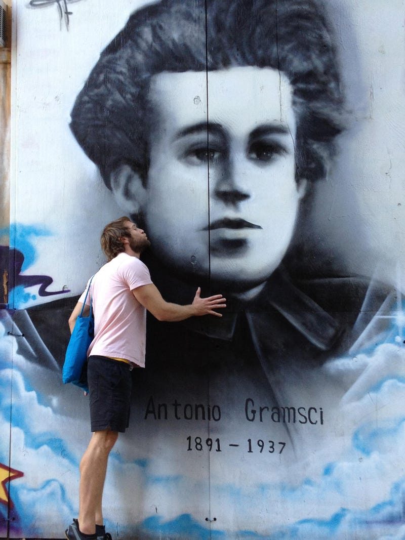 Tribute to a Great Thinker: Gramsci Monument